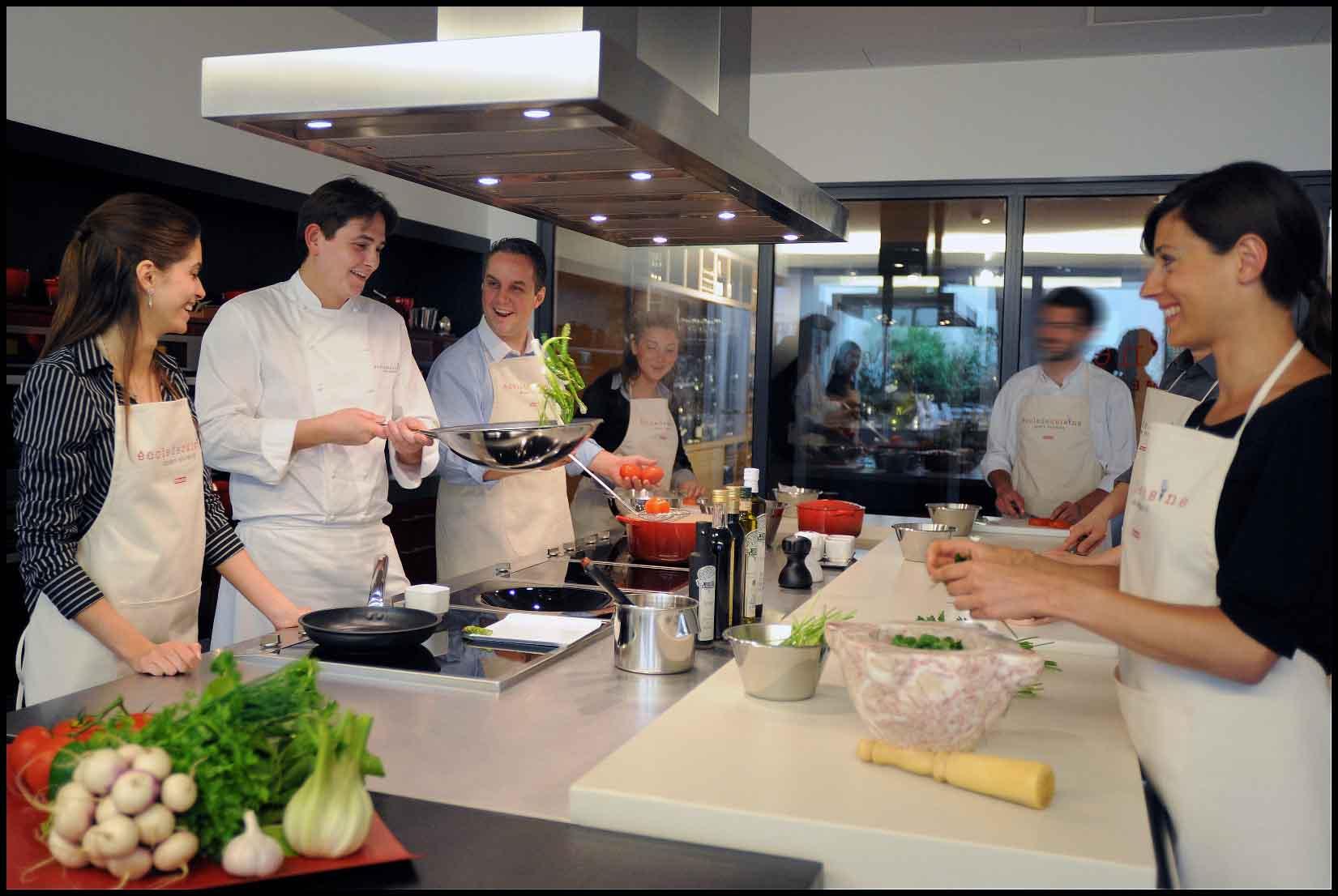 Alain ducasse tobechef for Atelier de cuisine gastronomique