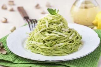 спагетти с травами